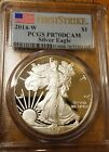 2014 W American Silver Eagle PCGS PR70 DCAM First Strike Discounted for Spot