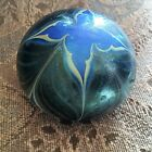 Lovely Orient & Flume Tiffany Style Iridescent Paperweight