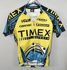 Vintage Timex 3 4 Zip Cycling Jersey SMALL Cannondale Retro Bike Unisex