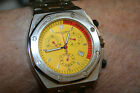 Newton-Sons men watch, New ,The Big Yellow chronometer, Big and Awesome, SALE !