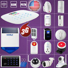 DIY W193 WiFi 3G GSM APP KERUI Wireless Home Alarm System,Accessories,US STOCK