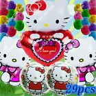 SELECTIONS HELLO KITTY BALLOONS Gifts Decor Shower Birthday Party Supplies lot Q