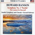 Gerard Schwarz, H. H - Symphony 1 Nordic / Lament for Beowulf [New CD]