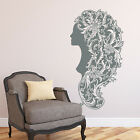 Wall Decal Girls Fashion Decal Beauty Hair Spa Salon Sticker Decor Vinyl U129