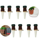 8x Automatic Watering Spikes System For Plant Ceramic Probes Houseplant Waterer