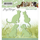 Find It Trading Amy Design Animal Medley Die Cats  Dogs