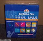 NEW ELMERS SCIENCE FAIR TOOL BOX SCIENCE MEASURING TOOLS W SAMPLE EXPERIMENTS
