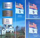 SunSetter 20 Ft Telescoping Flagpole with Free American Flag Factory Direct