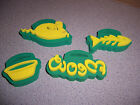 BACK STREET 4 CRAFT LARGE CHUNKY FOAM STAMPS NEW UNUSED CAT RELATED TOYS