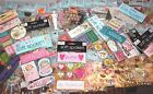 LOT 25 pkgs of SCRAPBOOKING STICKERS EMBELLISHMENTS Jolees SOFT SPOKEN ++