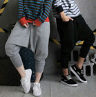 Unisex Men Women Casual Baggy Hip-hop Harem Trousers Dance Pants Sweatpants