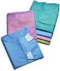 50 Pieces Isolation Cover Gowns Knit Cuff Disposable FDA Approved