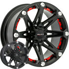 4 NEW Ballistic 814 Jester 20x9 6x1397 6x55 0mm Flat Black Wheels Rims