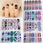 Lady NAIL ART STICKER WATER TRANSFER STICKERS FLOWER DECALS TIPS 3D DECORATION