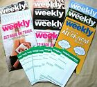 WEIGHT WATCHERS SMARTPOINTS WEEKLY FLYERS  PAPER MEAL TRACKERS COUPONS RECIPES