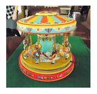 J Chein Playland Merry Go RoundEXCELLENT + BRIGHT COLORS