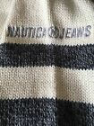 DEADSTOCK Vintage New With Tags Nautica Jeans Co Knit Mockneck