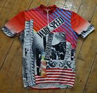 cycling jersey olna zolna warf speed vintage