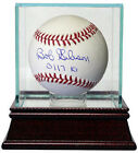Bob Gibson signed MLB Baseball 3117 K's w Glass Case (St. Louis Cardinals)