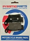 Rear brake pads for Husqvarna WR/WRE 125 Dual 00-07