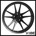 20 ROHANA RFX2 BLACK CONCAVE WHEELS RIMS FITS INFINITI G37 SEDAN