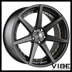 22 VERTINI DYNASTY GREY CONCAVE WHEELS RIMS FITS BMW F12 F13 M6 COUPE