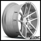 19 NICHE TARGA SILVER CONCAVE STAGGERED WHEELS RIMS FITS ACURA TL