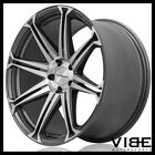 20 CONCAVO CW S8 GREY CONCAVE WHEELS RIMS FITS AUDI A7 S7