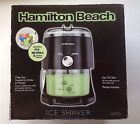 Hamilton Beach Electric Ice Crusher Shaver Slushie Snow Cone Machine NIB