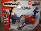 2000 matchbox fire station play set 1 vehicle included new in box