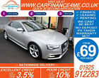 2012 AUDI A5 20 TDI MULTITRONIC S LINE GOOD BAD CREDIT CAR FINANCE FROM 69 P WK
