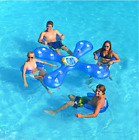 Inflatable Pool Float Raft Cooler Swimming Water Lake Fun Toy Play Beach Party