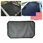 Sun Shade UV Protect 2 4 Door Mesh Bikini Top Cover For Jeep Wrangler JK 07 17