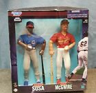 1999 STARTING LINEUP 12 INCH SAMMY SOSA AND MARK McGWIRE 2 PACK NEW IN BOX CUBS