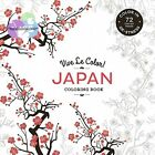 Japan Adult Coloring Book 72 Tear Out Pages Paperback Top Bound NEW