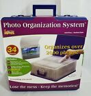 NEW CROPPER HOPPER PHOTO ORGANIZATION SYSTEM STORAGE CASE W ENVELOPES COMPLETE