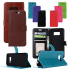 Fashion PU Lether Flip Wallet Stand Card Slot Case Cover For Samsung Galaxy