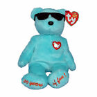 Ty Beanie Baby Summertime Fun - MWMT (Bear Blue New York Gift Show Exclusive 200