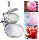 Electric Ice Crusher Shaver Machine Snow Cone Maker 304 SS blade bowl 300W stock