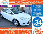 2011 FORD FOCUS 16 EDGE GOOD BAD CREDIT CAR FINANCE FROM 34 P WK