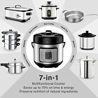 Electric Pressure Cooker Multi Functional Digital Stainless Steel Steam Rice