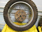 1976 76 Yamaha DT400 DT 400 Rear Wheel