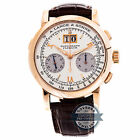 A. Lange & Sohne Datograph Manual 39mm Rose Gold Mens Strap Watch Chrono 403.032