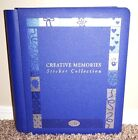 Creative Memories Sticker Collection Blue Album 95 x 115 w Pages scrapbook