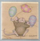STAMPABILITIES Rubber Stamp HOUSE MOUSE Dont Crack Under Pressure