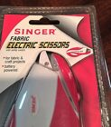 Singer Battery Operated Electric Fabric Scissors NEW Reduced Price