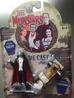 The Munsters Grandpa figure with Gold Coffin Dragster JoyRide: 2004