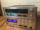 VTG Accuphase E202 Integrated Amp & T101 FM Tuner Restored Original Box, Manuals