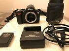 Nikon D60 digital camera and Nikon AF S Nikkor 55 200mm lens With batt charger