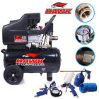 HAWK TOOLS 24L 24 LITRE CAR GARAGE AIR COMPRESSOR TANK TOOLS GUN SPRAY RATCHET